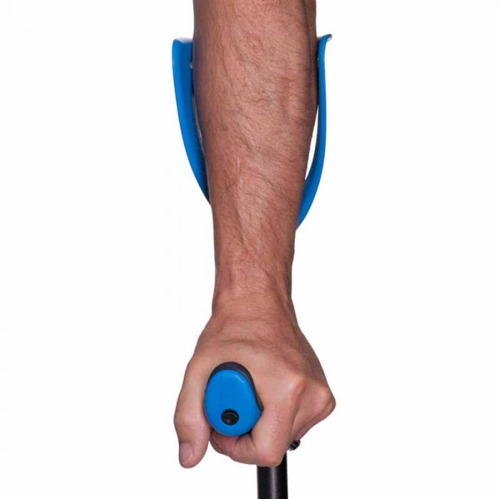 FDI ErgoTech forearm crutch showing forearm as an example