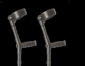flexyfoot crutches closed cuff pair
