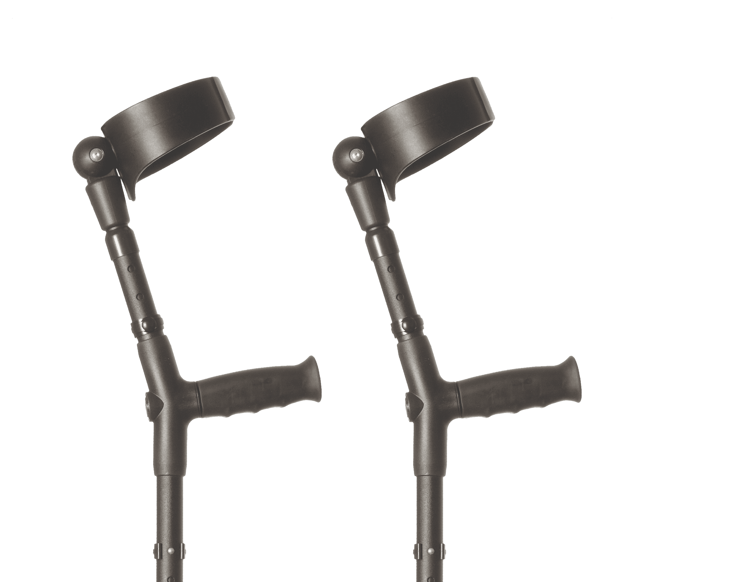 flexyfoot crutches closed cuff pair