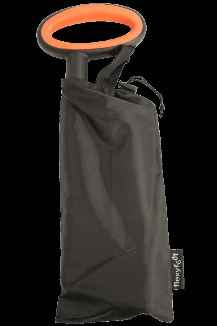 folding walking stick oval handle carry bag