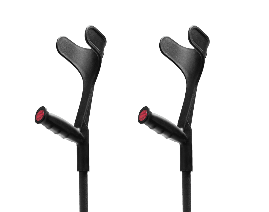 flexyfoot crutches open cuff standard pair
